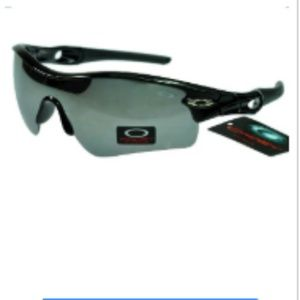 Wholesale Oakley Radar Sunglasses Grey Lens Black
